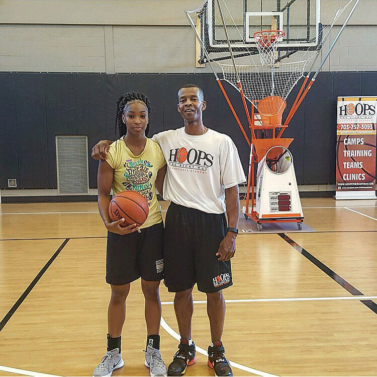 Genesis Parker who playing for VA Tech!