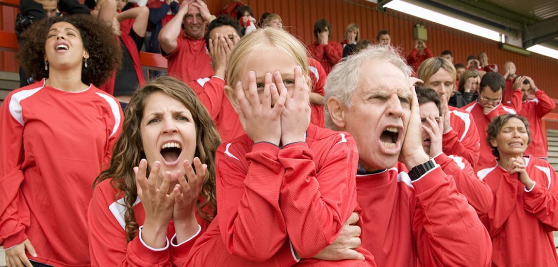 Parent Cheerleaders!