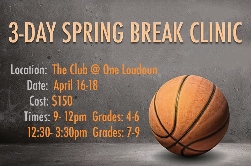 Spring Break Hoops Clinic