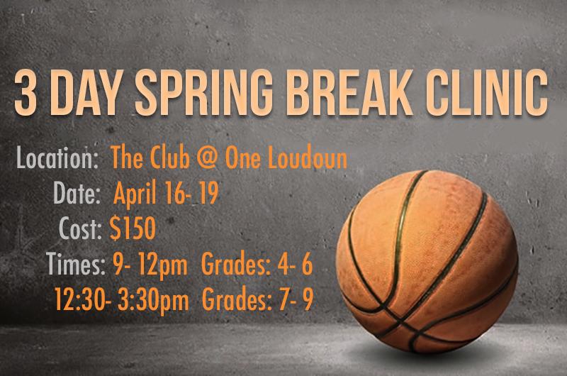 Spring Break Hoops Clinic